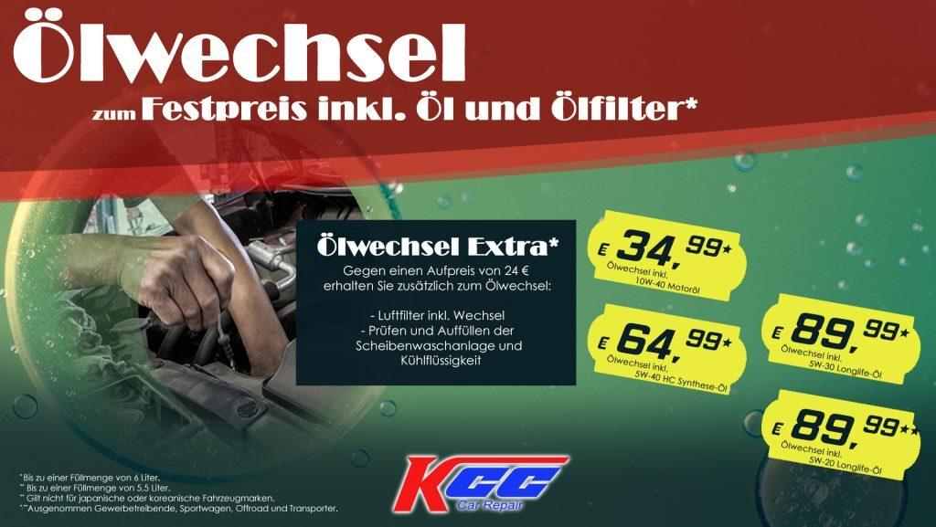 günstiger Ölwechsel chemnitz